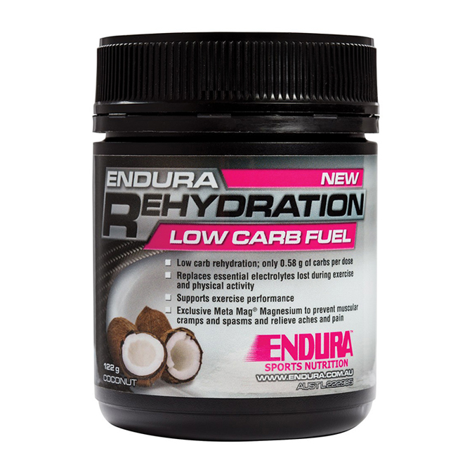 Endura - Rehydration Low Carb Fuel 128g  32serves