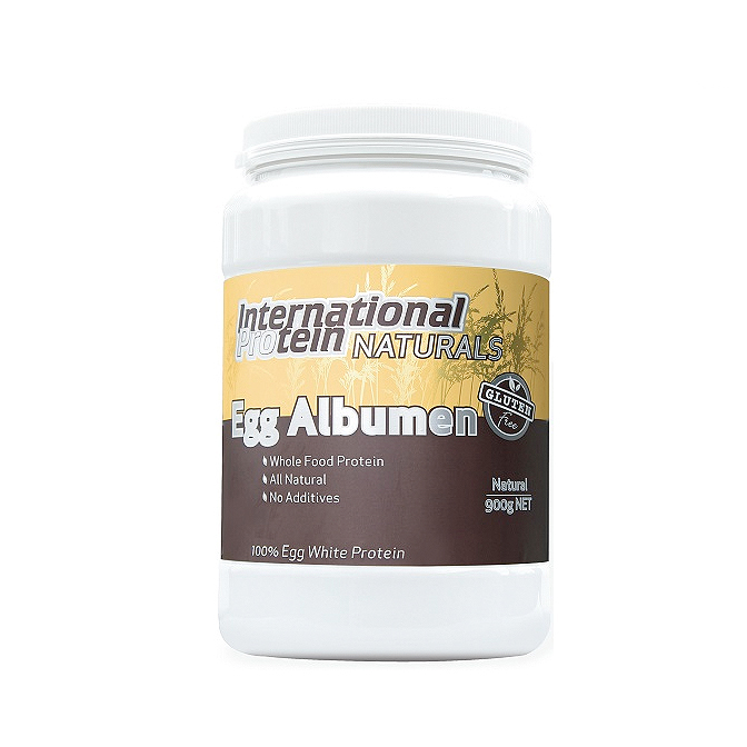 International - Egg Albumen 900g - Natural