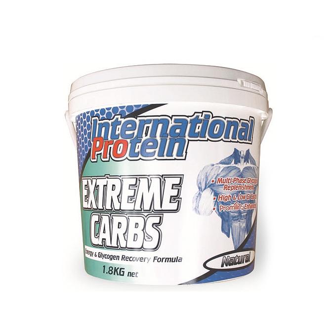 International - Extreme Carbs 1.8kg - Unflavoured