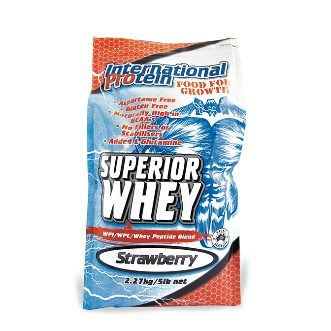 International - Superior Whey 2.27kg