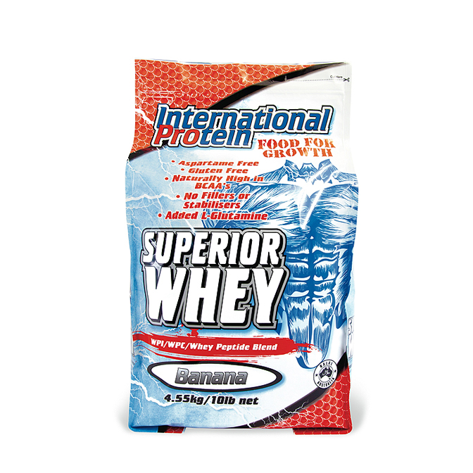 International - Superior Whey 4.55kg