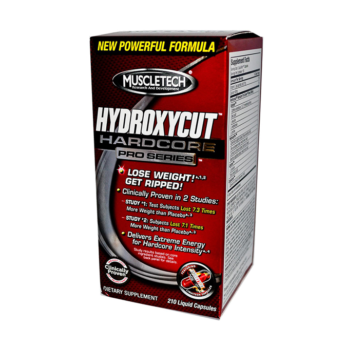 Muscletech - Hydroxycut Hardcore 60caps