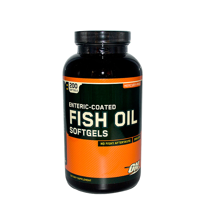 Optimum - Fish Oil 200caps