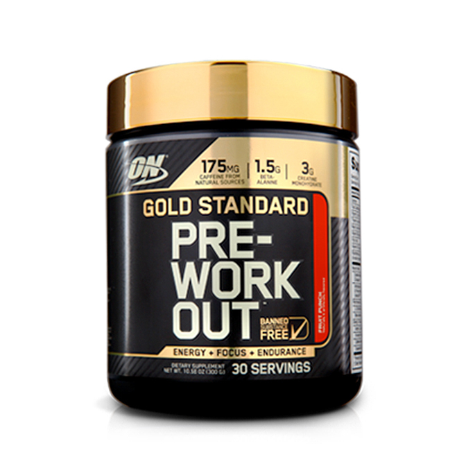 Optimum - Gold Standard Pre-workout 30 servings