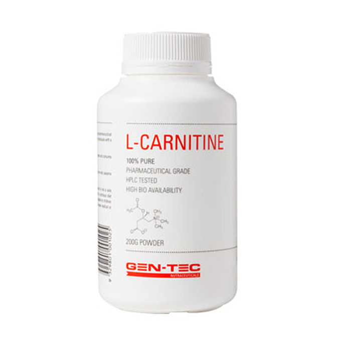 GEN-TEC - L-Carnitine 200g