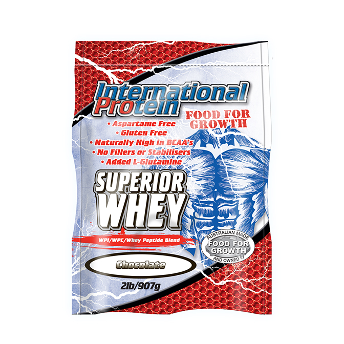 International - Superior Whey 907g