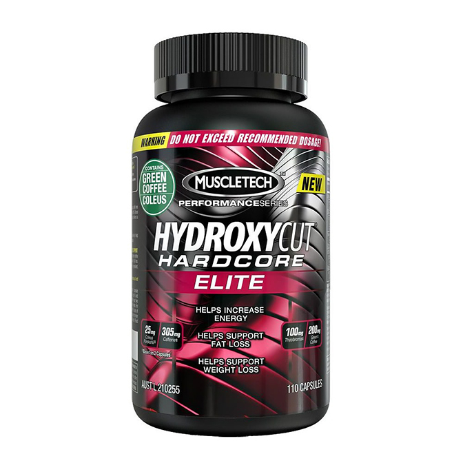 Muscletech - Hydroxycut Hardcore Elite - 110 capsules