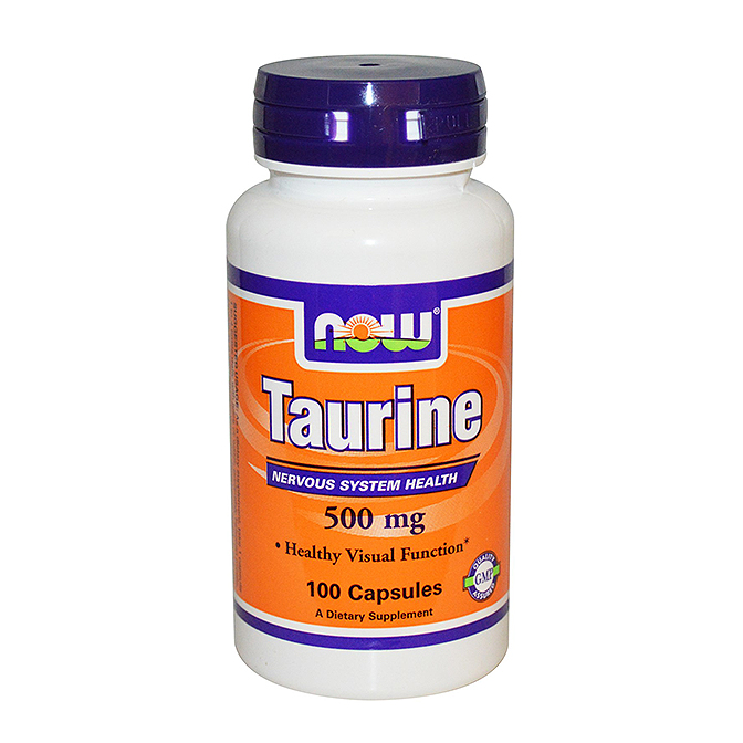 NOW - Taurine 500mg - 100 capsules