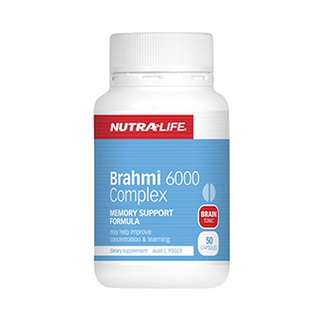 NutraLife - Brahmi 6000 - 50 capsules
