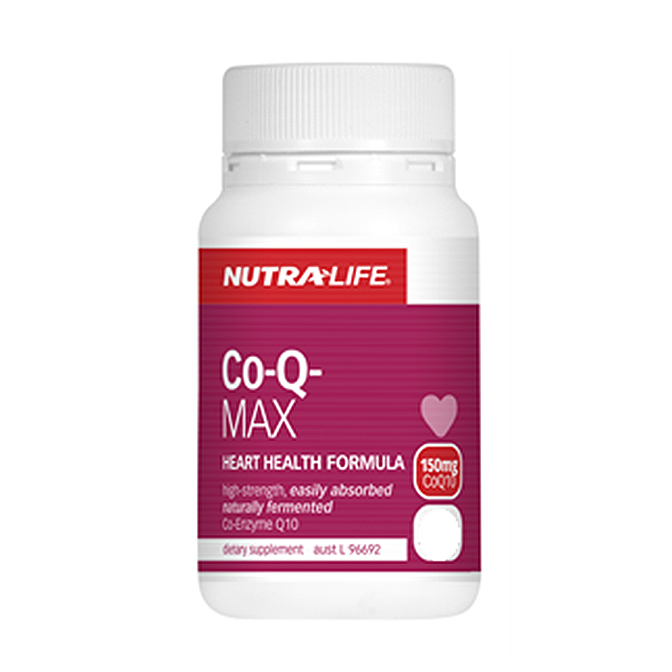 NutraLife - CO-Q-MAX 150mg - 120 capsules