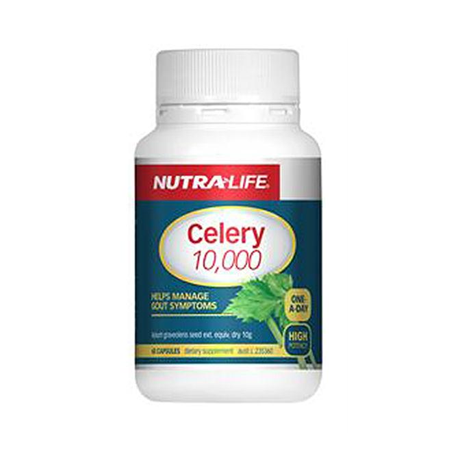 NutraLife - Celery 10,000 - 60 capsules