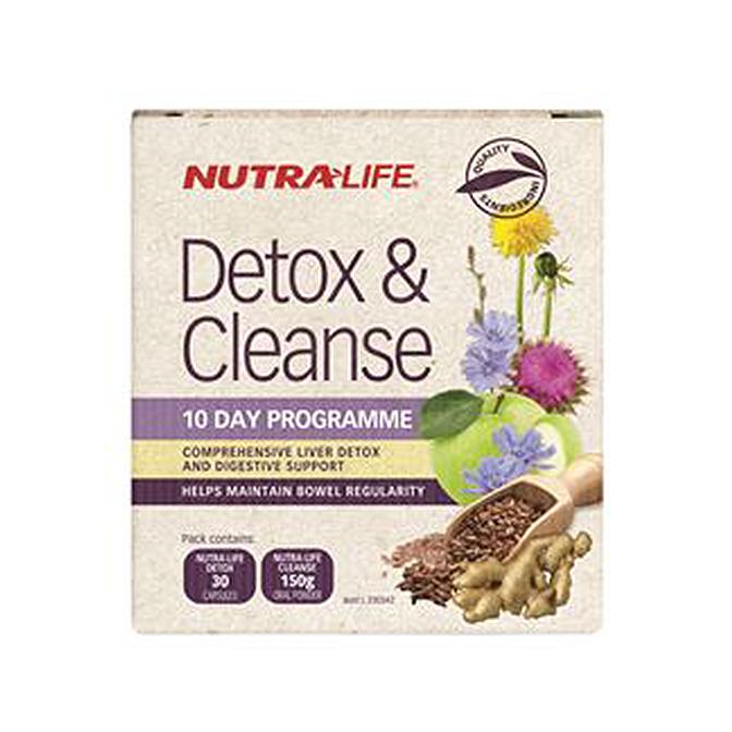 NutraLife - Detox Capsules - 30 capsules