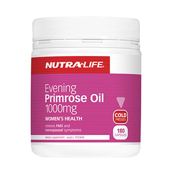NutraLife - Evening Primrose Oil 1000mg - 180 capsules
