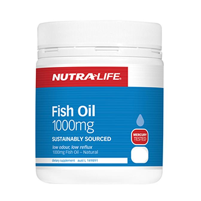 NutraLife - Fish Oil 1000mg - 200 capsules