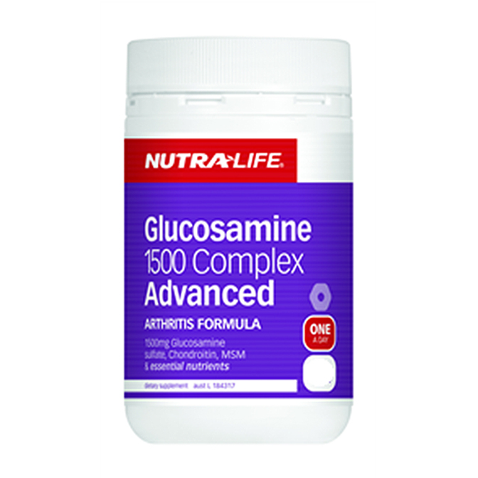 NutraLife - Glucosamine 1500 Complex Advance - 180 tablets