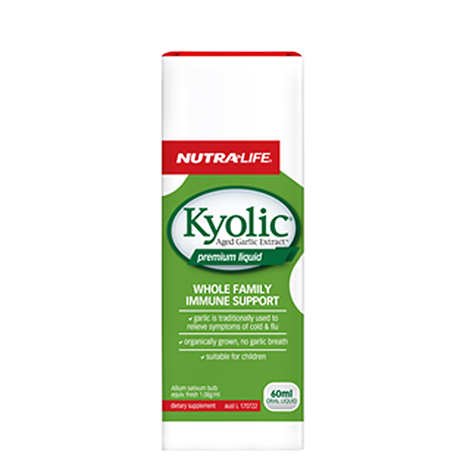 NutraLife - Kyolic Premium Liquid - 60ml