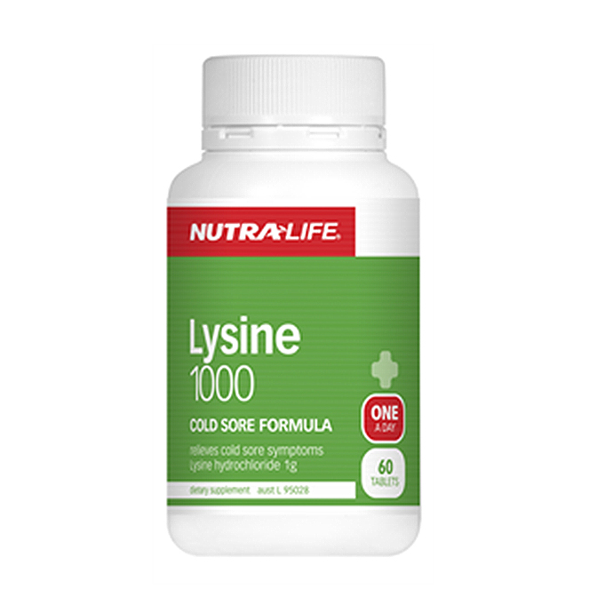 NutraLife - L-Lysine 1000mg - 60 tablets