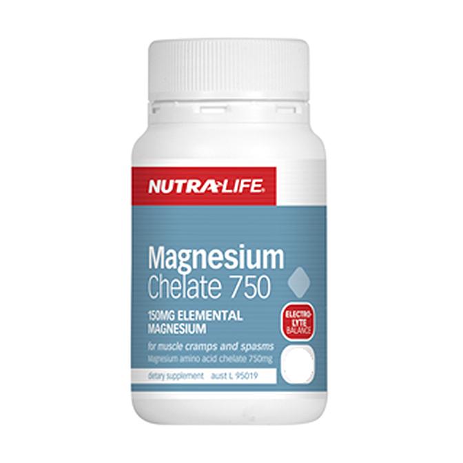 NutraLife - Magnesium Chelate 750mg - 120 capsules