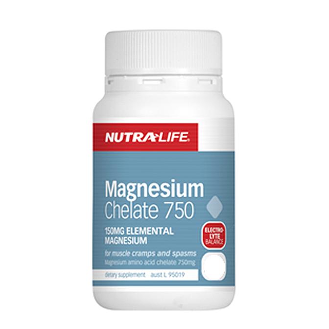 NutraLife - Magnesium Chelate 750mg - 60 capsules
