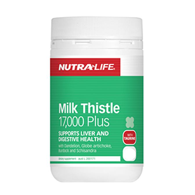 NutraLife - Milk Thistle 17,000 - 120 capsules