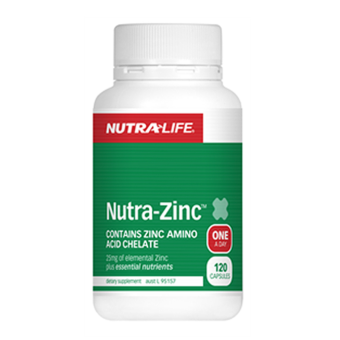 NutraLife - Nutra Zinc 250mg - 120 capsules