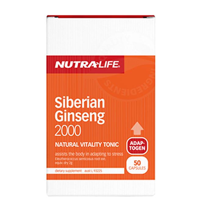 NutraLife - Siberian Ginseng 2000 - 50 capsules