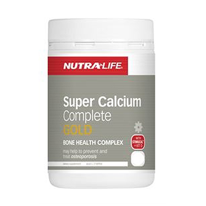NutraLife - Super Calcium Complete Gold - 120 tablets