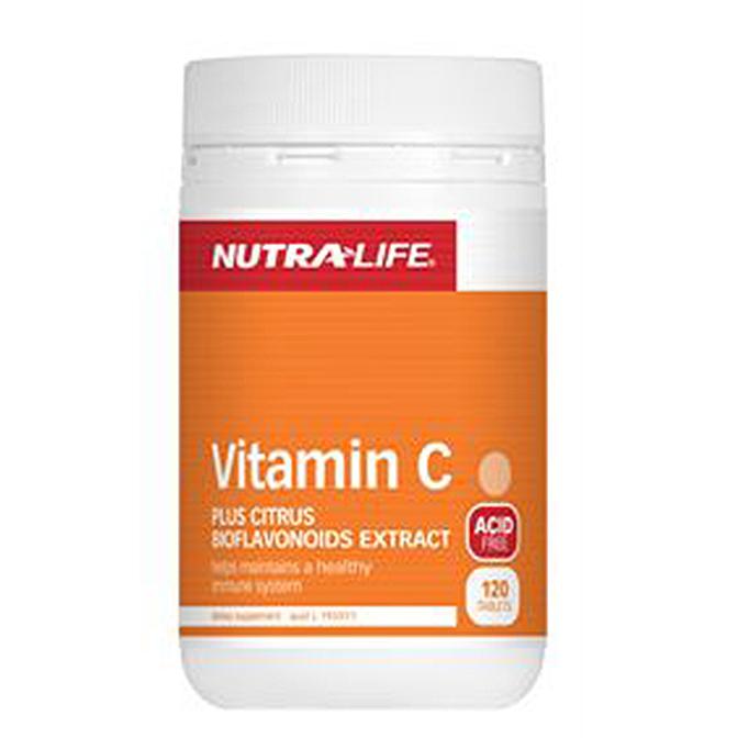 NutraLife - Vitamin C Acid Free - 120 tablets