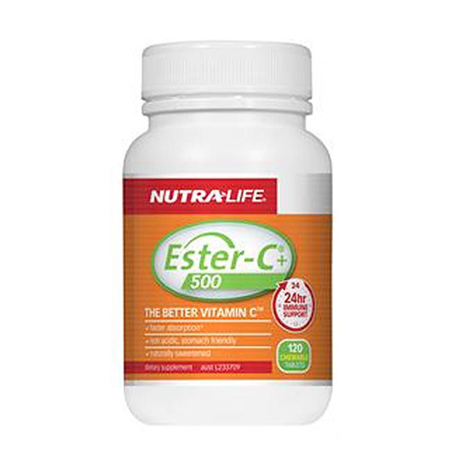 NutraLife - Vitamin C Chewable 500mg - 240 tablets