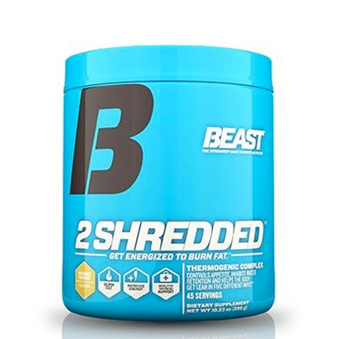 Beast - 2 Shredded - 45 servings - Mango Peach