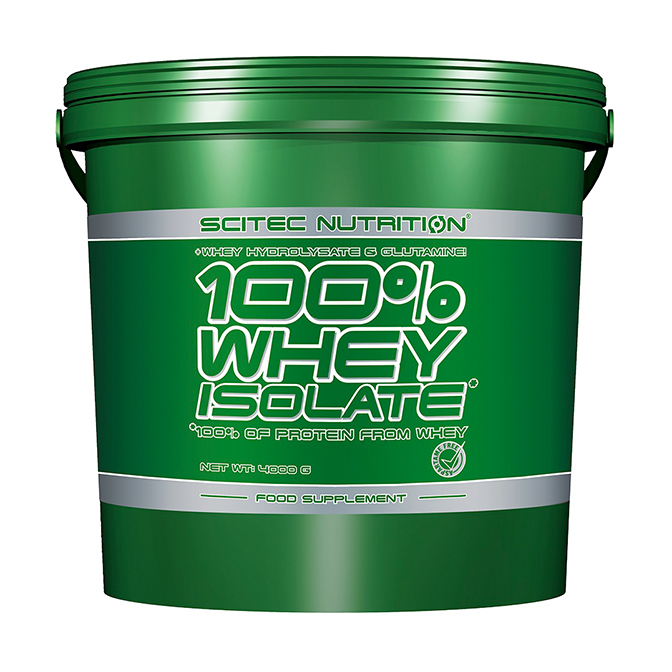 Scitec - 100 Whey Isolate 4kg