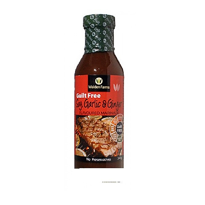 Walden Farms - 'Guilt Free' Soy, Garlic & Ginger, Sauce & Marinade