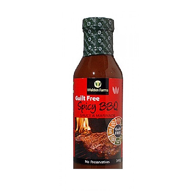 Walden Farms - 'Guilt Free' Spicy BBQ  Sauce & Marinade