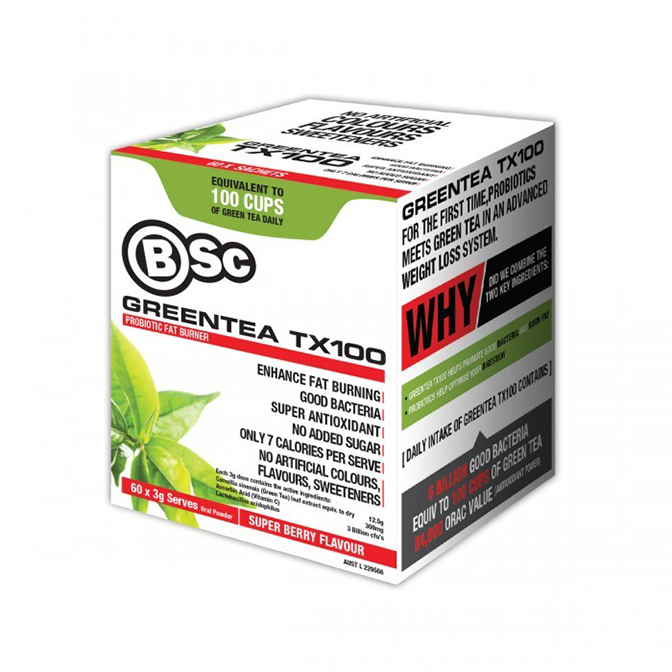 BSC - Green Tea TX100 - 60servings