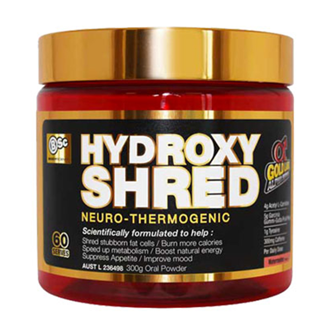 BSC - Hydroxy Shred 60servings