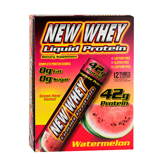 NEW Whey - Liquid Protein shot - Box of 12