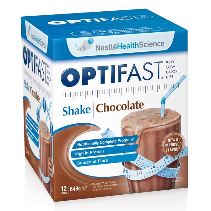 VLCD - Nestle Optifast Shakes 12pack