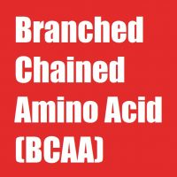 Branched Chained Amino Acid (BCAA)