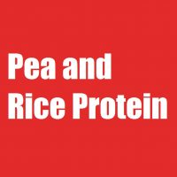 Pea and Rice Protein