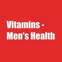 Vitamins - Men's Health