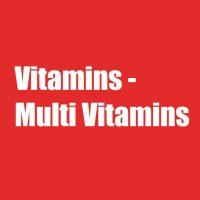 Vitamins - Multi Vitamins