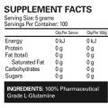 Ehp labs glutamine nutrition info