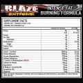 OCD Nutrition – Blaze Xtreme 40servings Nutritional