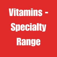 Vitamins - Specialty Range