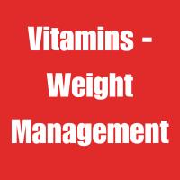 Vitamins - Weight Management