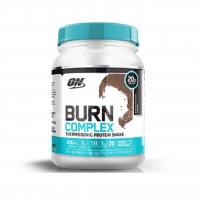 optimum nutrition burn complex thermogenic protein 885g